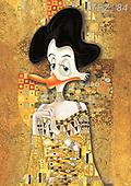 Fabrizio, Comics, CUTE ANIMALS, LUSTIGE TIERE, ANIMALITOS DIVERTIDOS, paintings+++++,ITFZ84,#ac#, EVERYDAY