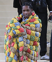 September 13, 2021.A$AP Rocky, attend The 2021 Met Gala Celebrating In America: A Lexicon Of Fashion at<br /> Metropolitan Museum of Art  in New York September 13, 2021 Credit:RW/MediaPunch