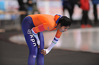 SPEEDSKATING: ERFURT: 19-01-2018, ISU World Cup, 1000m Ladies B Division, Anice Das (NED), photo: Martin de Jong