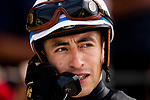 AUGUST 20, 2021: Juan Hernandez at Del Mar Fairgrounds in Del Mar, California on August 20, 2021. Evers/Eclipse Sportswire/CSM