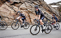 Romain Bardet (FRA/DSM) up the Passo San Bernardino (2065m/SUI)<br /> <br /> 104th Giro d'Italia 2021 (2.UWT)<br /> Stage 20 (through Switzerland) from Verbania to Valle Spluga-Alpe Motta (164km)<br /> <br /> ©kramon