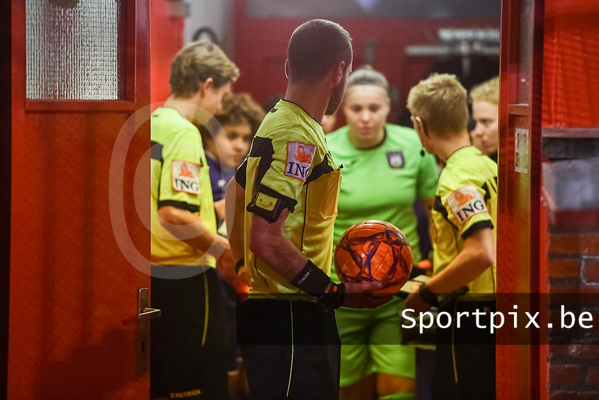 illustration pictured before a female soccer game between RSC Anderlecht Dames and AA Gent Ladies on the seventh matchday of the 2020 - 2021 season of Belgian Womens Super League , friday 13 th of November 2020  in Overijse , Belgium . PHOTO SPORTPIX.BE | SPP | STIJN AUDOOREN