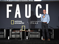"""PASADENA, CA - SEPT 9: Moderator John Horn attends a drive-in screening of National Geographic Documentary Films """"Fauci"""" at the Rose Bowl on September 9, 2021 in Pasadena, California. (Photo by Frank Micelotta/National Geographic/PictureGroup)"""