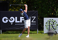 Thomas Woods. Day one of the Renaissance Brewing NZ Stroke Play Championship at Paraparaumu Beach Golf Club in Paraparaumu, New Zealand on Thursday, 18 March 2021. Photo: Dave Lintott / lintottphoto.co.nz