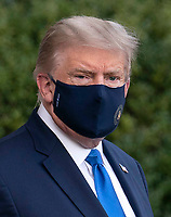 OCT 02 President Trump Departs the White House for Hospital