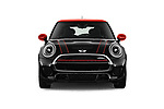 Car photography straight front view of a 2017 Mini MINI John Cooper Works 3 Door Hatchback