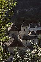 Europe/France/Midi-Pyrénées/46/Lot/Quercy/Saint-Martin-de-Vers: Le village