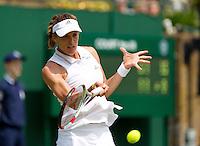 England, London, 24.06.2014. Tennis, Wimbledon, AELTC, Andrea Petkovic (GER)<br /> Photo: Tennisimages/Henk Koster