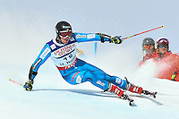 February 17, 2017: Aleksander Aamodt KILDE (NOR) competing in the men's giant slalom event at the FIS Alpine World Ski Championships at St Moritz, Switzerland. Photo Sydney Low