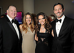 From left: Paul and Kristina Somerville with Joanna and Brad Marks at the Houston Symphony Opening Night Champagne at The Corinthian Saturday Sept. 12,2015.(Dave Rossman photo)