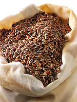 brown linseed stock photos