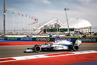 26th September 2020, Sochi, Russia; FIA Formula One Grand Prix of Russia, qualification;  6 Nicholas Latifi CAN, Williams Racing