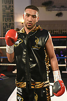 Youssef Khoumar defeats Michael Isaac Carrero during a Boxing Show at the Dunstable Conference Centre on 7th March 2020