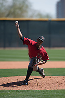 Arizona Diamondbacks relief pitcher Tyler Mark (26) delivers a pitch to the plate during a Minor League Spring Training intrasquad game at Salt River Fields at Talking Stick on March 12, 2018 in Scottsdale, Arizona. (Zachary Lucy/Four Seam Images)