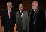 PAOLO FERRARI CON FULVIO LUCISANO E MARCO MULLER<br /> MANIFESTAZIONE PER I 10 ANNI DELL'AUDITORIUR PARCO DELLA MUSICA ROMA 2013