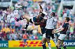 Fiji play Hong Kong on Day 1 of the Cathay Pacific / HSBC Hong Kong Sevens 2013 at Hong Kong Stadium, Hong Kong. Photo by Manuel Queimadelos / The Power of Sport Images