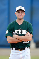 Dartmouth Big Green Pitcher Cole Sulser (13) during a game against the University of Alabama at Birmingham Blazers at Chain of Lakes Stadium on March 17, 2013 in Winter Haven, Florida.  Dartmouth defeated UAB 4-0.  (Mike Janes/Four Seam Images)