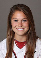 STANFORD, CA - OCTOBER 29:  Caitlin Breen of the Stanford Cardinal softball team poses for a headshot on October 29, 2009 in Stanford, California.