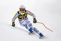 29th December 2020; Stelvio, Bormio, Italy; FIS World Cup Super G for Men;  Romed Baumann of Germany in action during his run for the men Super G race