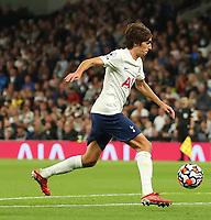 26th August 2021; Tottenham Hotspur Stadium, London, England; Europa Conference League football, Tottenham Hotspur versus Pacos de Ferreira; Bryan Gil of Tottenham Hotspur runs into the box