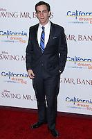 "BURBANK, CA - DECEMBER 09: B.J. Novak arriving at the U.S. Premiere Of Disney's ""Saving Mr. Banks"" held at Walt Disney Studios on December 9, 2013 in Burbank, California. (Photo by Xavier Collin/Celebrity Monitor)"