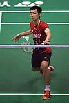 CHONG Wei Feng of Malaysia in action while playing against Tanongsak SAENSOMBOONSUK of Thailand during the YONEX-SUNRISE Hong Kong Open Badminton Championships 2016 at the Hong Kong Coliseum on 23 November 2016 in Hong Kong, China. Photo by Marcio Rodrigo Machado / Power Sport Images