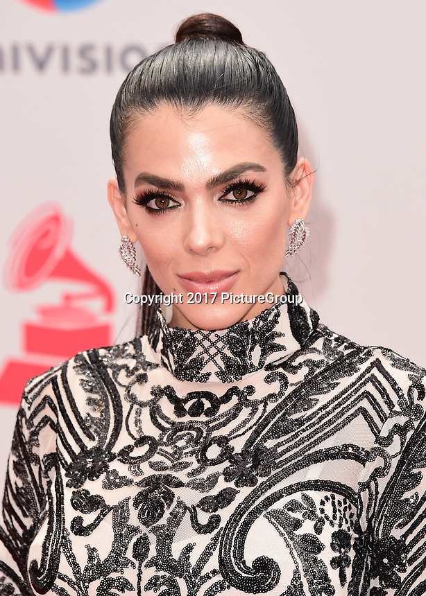 LAS VEGAS, NV - NOVEMBER 16:  Danella Urbay at the 18th Annual Latin Grammy Awards at the MGM Grand Garden Arena on November 16, 2017 in Las Vegas, Nevada. (Photo by Scott Kirkland/PictureGroup)