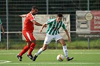 Abdelhafid Darrah (Büttelborn) gegen Timo Knoll (Groß-Gerau) - 15.08.2021 Büttelborn: SKV Büttelborn vs. VfR Groß-Gerau, Gruppenliga