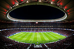 Wanda Metropolitano is seen during the La Liga 2017-18 match between Atletico de Madrid and Malaga CF on 16 September 2017 in Madrid, Spain. Photo by Diego Gonzalez / Power Sport Images