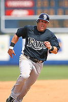 March 20th 2008:  Jon Weber of the Tampa Bay Devil Rays during a Spring Training game at Chain of Lakes Park in Winter Haven, FL.  Photo by:  Mike Janes/Four Seam Images