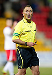 St Johnstone v Inverness Caley Thistle....02.01.11  .Ref George Salmond.Picture by Graeme Hart..Copyright Perthshire Picture Agency.Tel: 01738 623350  Mobile: 07990 594431