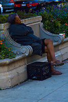 Various images of the city of Chicago, Illinois Homeless people as seen on the streets of Chicago, Illinois.