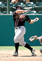 Mike McKenry / Modesto Nuts..Photo by:  Bill Mitchell/Four Seam Images