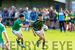 Action from St Brendans v St Kierans in the County Minor Football Championship.