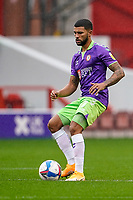 3rd October 2020; City Ground, Nottinghamshire, Midlands, England; English Football League Championship Football, Nottingham Forest versus Bristol City; Nahki Wells of Bristol City gets the game started