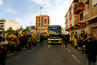 29th April 2021; Ceramica Stadium, Villareal, Spain; EUropa League semi-final football, Villareal CF versus Arsenal;  Villarreal supporters during the UEFA Europa League match