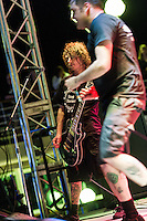 Napalm Death on the 2012 Barge to Hell.