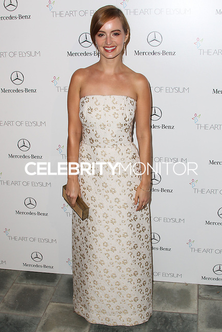 LOS ANGELES, CA - JANUARY 11: Ahna O'Reilly at The Art of Elysium's 7th Annual Heaven Gala held at Skirball Cultural Center on January 11, 2014 in Los Angeles, California. (Photo by Xavier Collin/Celebrity Monitor)