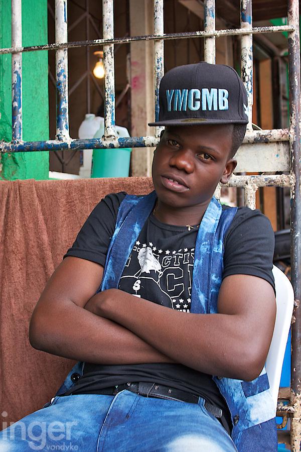 Cool Dude in Dambwa Central Market, Livingstone, Zambia