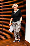 Madrid Mayor Manuela Carmena during the presentation of the 7th edition of Gala Sida for his first time in Madrid. June 21, 2016. (ALTERPHOTOS/BorjaB.Hojas)