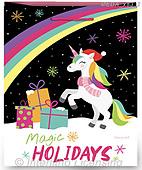 Dreams, CHRISTMAS ANIMALS, WEIHNACHTEN TIERE, NAVIDAD ANIMALES, paintings+++++,MEDAX83/2,#xa# ,jack dreams