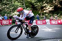 Tadej Pogačar (SLO/UAE-Emirates)<br /> <br /> stage 10 (ITT): Jurançon to Pau (36.2km > in FRANCE)<br /> La Vuelta 2019<br /> <br /> ©kramon