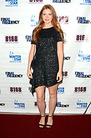 """LOS ANGELES - AUG 11:  Sarah Morford at """"Final Frequency"""" Screening & Red Carpet at Laemmle Town Center on August 11, 2021 in Encino, CA"""
