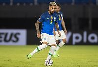08th June 2021; Defensores del Chaco Stadium, Asuncion, Paraguay; World Cup football 2022 qualifiers; Paraguay versus Brazil;   Douglas Luiz of Brazil