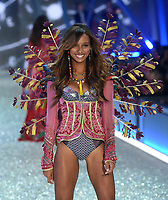 PARIS, FRANCE - NOVEMBER 30 Models at the the Victoria's Secret Fashion Show on November 30, 2016 in Paris, France.<br />