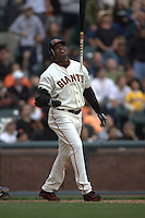 Barry Bonds. Baseball: San Diego Padres vs San Francisco Giants at AT&T Park in San Francisco, CA on September 9, 2006. Photo by Brad Mangin