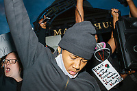 George Floyd Peaceful Protest - Black Lives Matter - Police Brutality - Boston MA - 31 May 2020