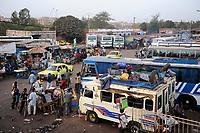 MALI, Bamako , bus stand for long distances buses