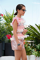 """CANNES, FRANCE - JULY 13: French-Algerian actress Lyna Khoudri at photocall for the film """"The French Dispatch"""" at the 74th annual Cannes Film Festival in Cannes, France on July 13, 2021 <br /> CAP/GOL<br /> ©GOL/Capital Pictures"""