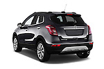 Car pictures of rear three quarter view of 2017 Opel Mokka-X Innovation 5 Door SUV Angular Rear